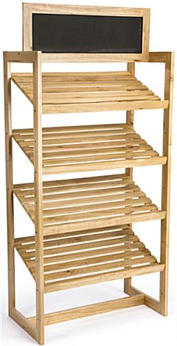 wooden display stand2 - Copy