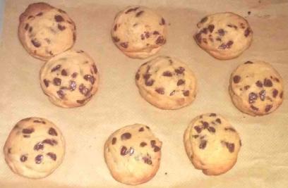 Choc Chip cookies with Brown Sugar